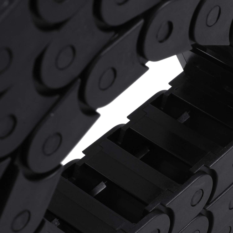 Tamkyo 10 x 20 mm 1 M oeffnen an beiden Seiten Kunststoff-Schleppleine Schleppkette