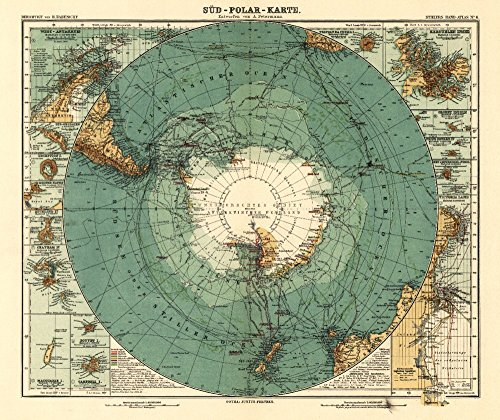 panoramic-map-of-antarctica-1912-9x12-collectible-art-print-wall-decor-travel-poster