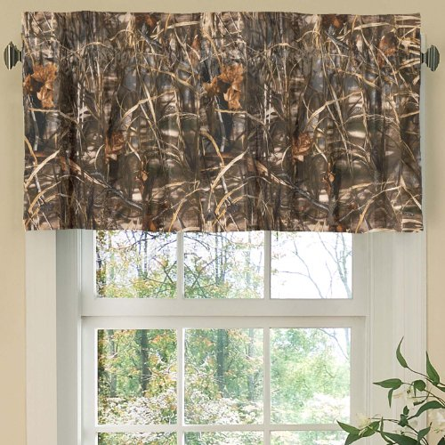 Nursery Max Bedding - Realtree Max-4 Valance, 88 Inch X 18 Inch