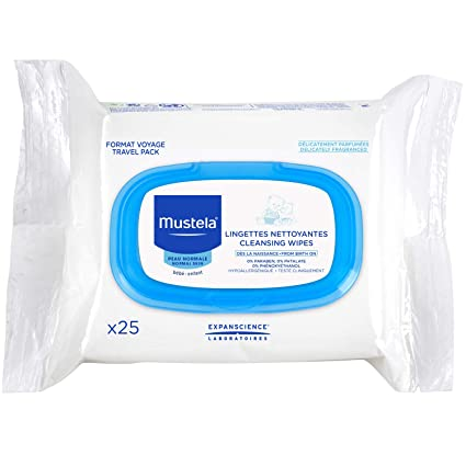 Mustela - Toallitas Cara Mustela 25 uds