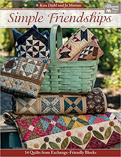 Simple Friendships 14 Quilts From Exchange Friendly Blocks Kim
