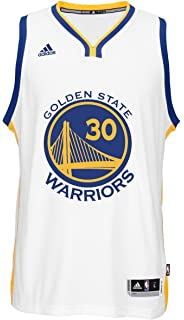adidas Stephen Curry Mens White Golden State Warriors Swingman Jersey