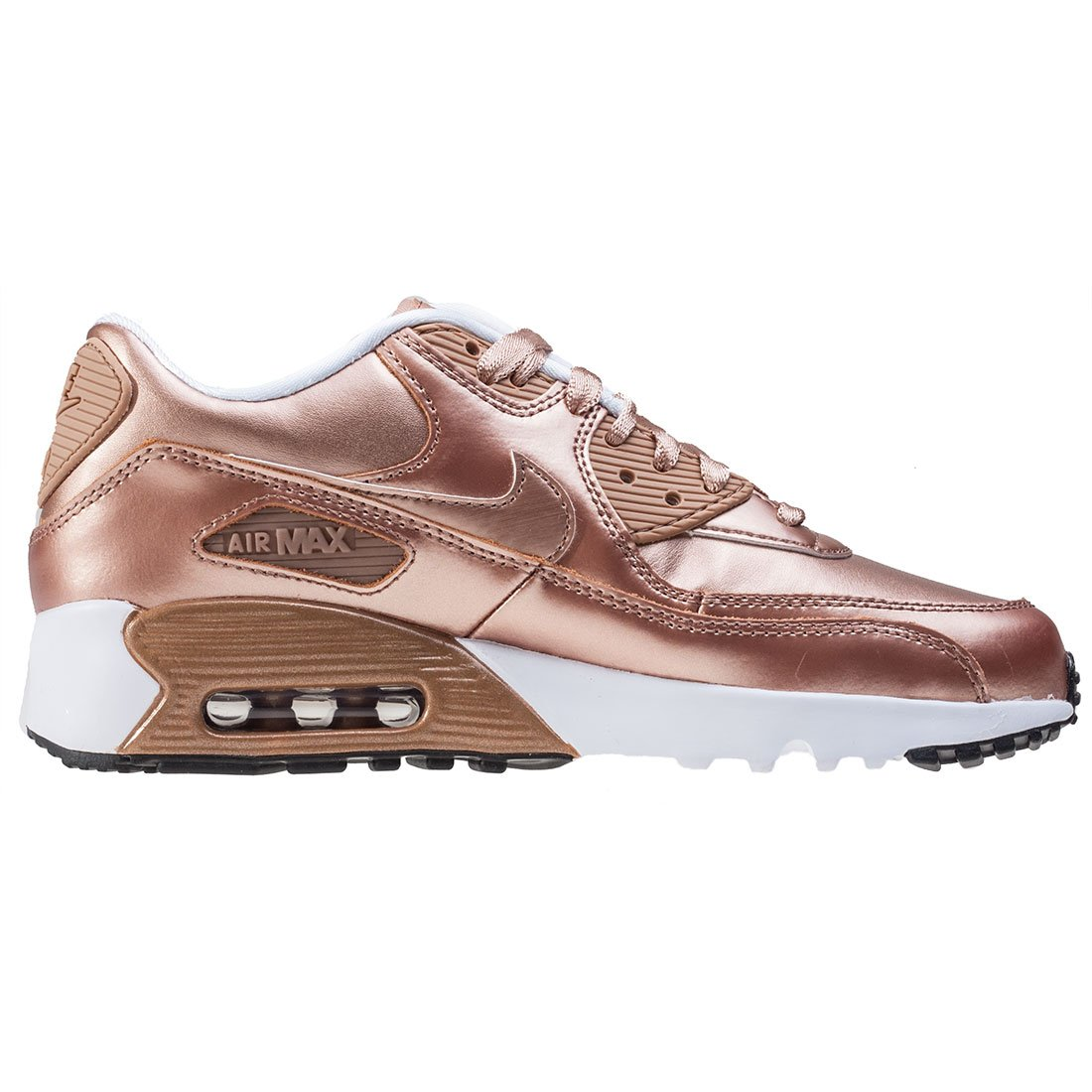 Cheap Nike Air Max 90 Se Leather Gs Bronze Pack Schuhe Damen