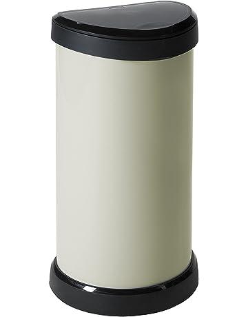 Curver Touch - Cubo de Basura, Mecanismo de Apertura con Toque, 40 L