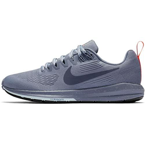 reputable site 47fa8 a45f3 Nike Women s Air Zoom Structure 21 Shield Running Shoes (3.5 UK, Dark Sky  Blue