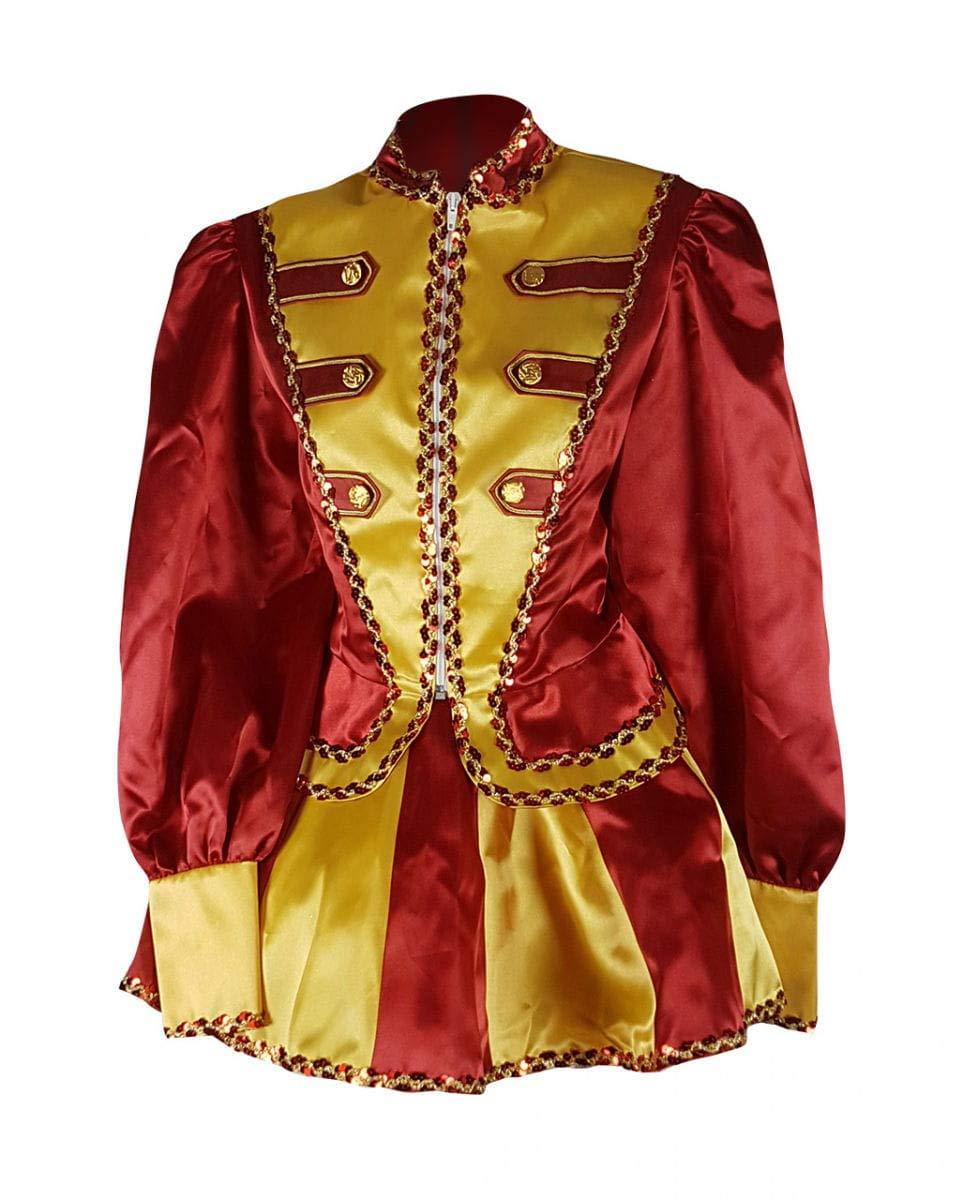 Horror-Shop Gardemädchen -Funkenmariechen Kostüm Rot-Gelb Premium S / / / 36 2ee0ae