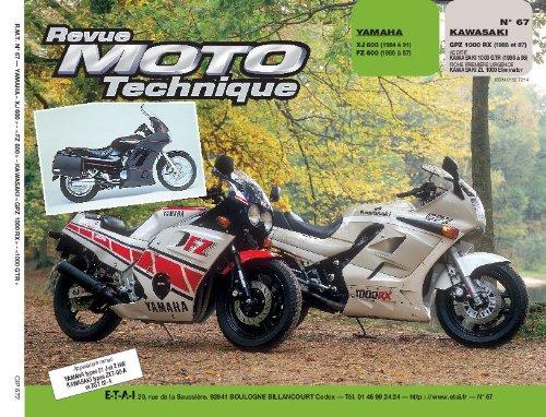 Price comparison product image Yamaha xj 600 (84à91) fz 600 (86à87) Kawasaki gpz 1000 rx (86 et 87) additif Kawasaki 1000 gtr (86à96) fiche première urgence Kawasaki zl 1000 éliminator