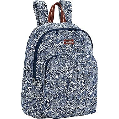 Sakroots Artist Circle Medium Backpack (Navy Spirit Desert)
