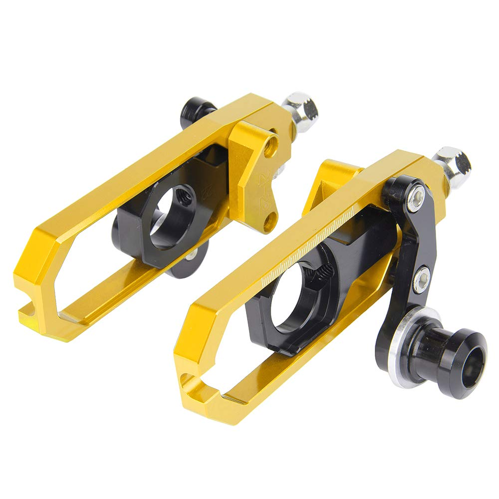for Kawasaki ZX-10R ZX10R ZX 10 R ZX-10-R 2011-2015 Chain Tensioner Adjuster with spool 2012 2013 2014 Green