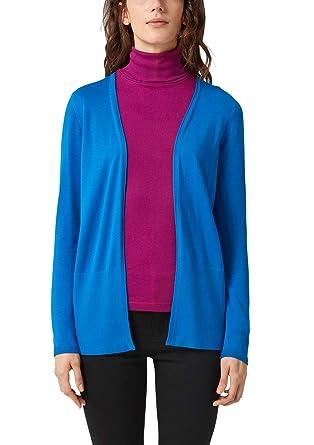 fresh styles timeless design speical offer s.Oliver RED LABEL Damen Offener Cardigan aus Feinstrick: s ...