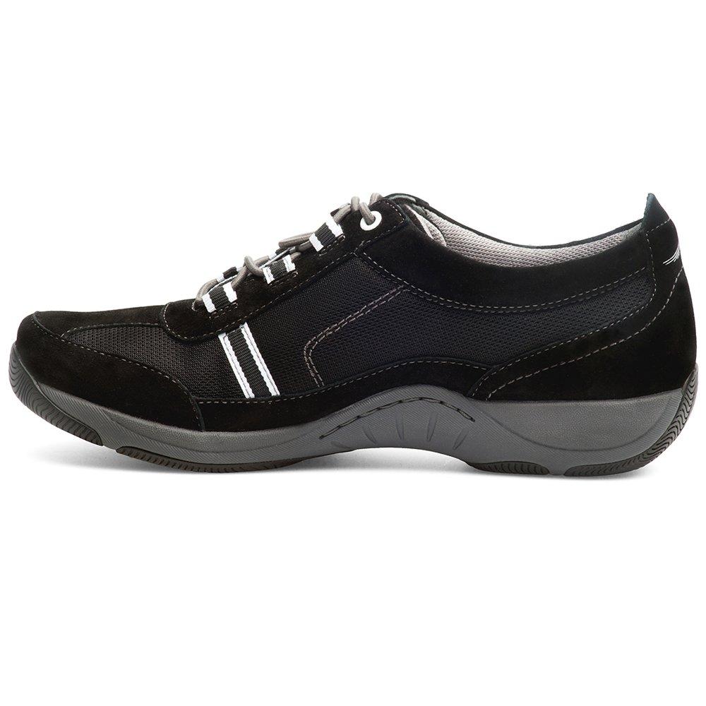 Dansko Women's Helen Sneakers (Black/White Suede,EURO38-US7.5-8) by Dansko (Image #2)