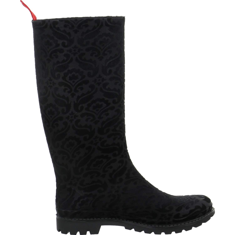 Gosch scarpe Donna Microfibra Stivali Stivali Stivali di Gomma con Motivo 71091-345 in 4 Colorei 40bbe8