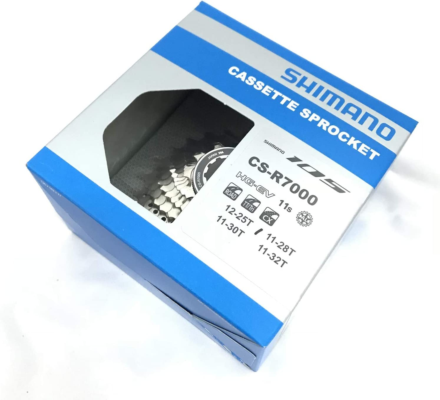 Shimano CS-R7000 11 Speed Road Cassette Sprocket 11-30T