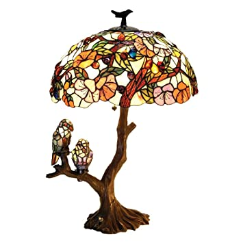 Amazon chloe lighting ch19b441dt 3 light birds harmony table chloe lighting ch19b441dt 3 light birds harmony table lamp mozeypictures