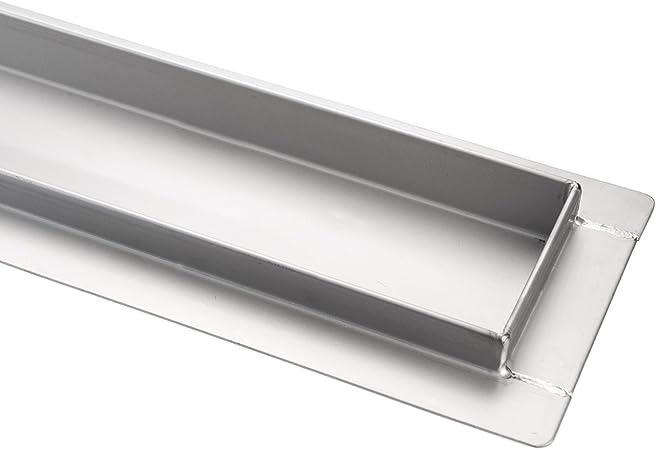 Kobert Goods Caniveau d/écoulement G026//écoulement de douche en acier inoxydable avec siphon de sol et Bonde douche dessins assortis 120/cm disponible en 10/Variations et diff/érentes tailles de 50