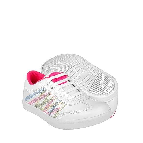 Cats Urbanos 21 18 Zapatos Atleticos 10998 Y Baby Blanco Simipiel QdrshxtC