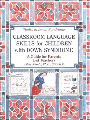 Amazon.com: Classroom Language Skills for Children with Down ...