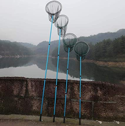 71inch DPPAN Einziehbarer Kescher Angeln f/ür Fang und Freigabe Fisch Kescher,1.8m Faltbare Fliegenfischen Kescher Leichte Rutschfest Nylongeflecht