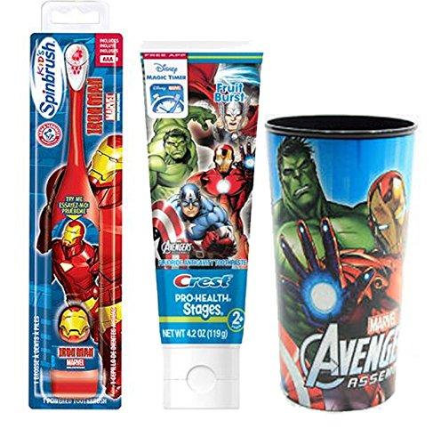 marvel-avengers-iron-man-spinbrush-kids-powered-toothbrush-crest-avengers-fruit-blast-toothpaste-42-