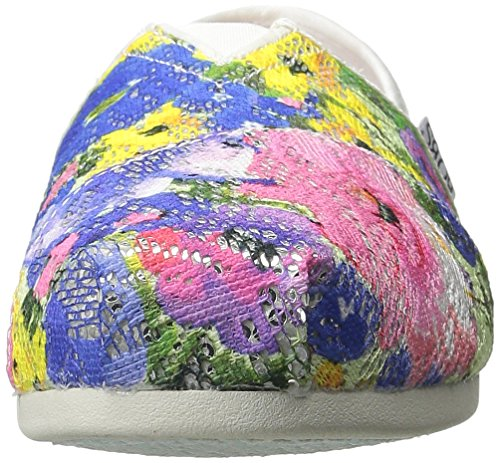Chill Flotteurs Luxe De White Flowers Multi Chaussure Skechers tqrEnx1q