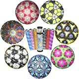 7TECH 2-Packs magic kaleidoscope Classic Spinning Game Educational Toys Perfect Gift for kids with Big Blue One and Small in random color