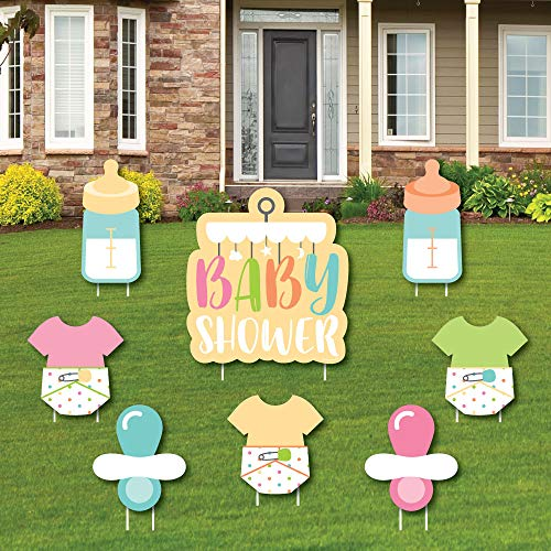Neutral Baby Shower - Yard Sign and Outdoor