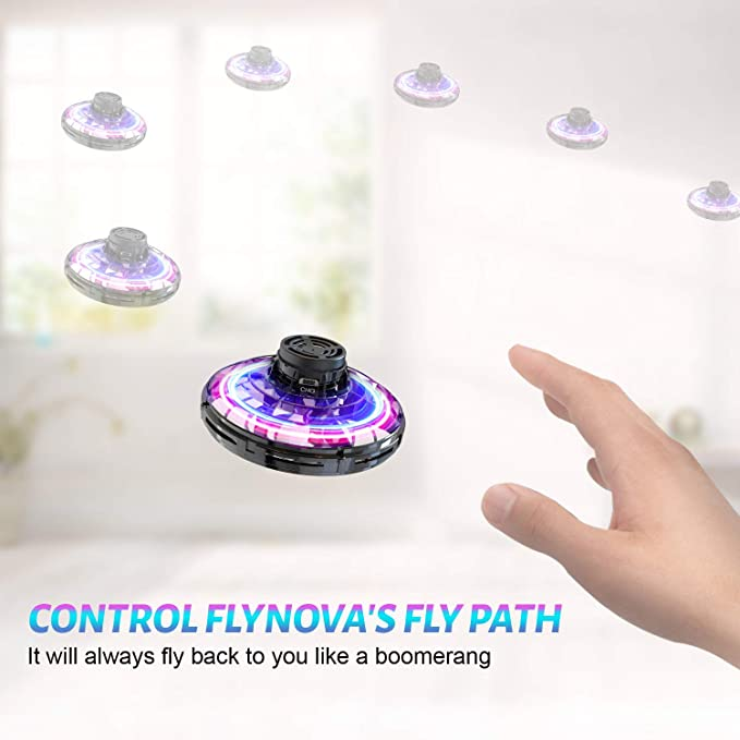 Flynova Hand Operated Drone for Kids Toddlers Adults Returning Boomerang VGO#