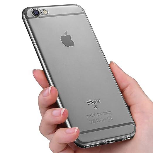 17 opinioni per Custodia iPhone 6, innislink Cover iPhone 6s Silicone Case TPU Bumper Antiurto