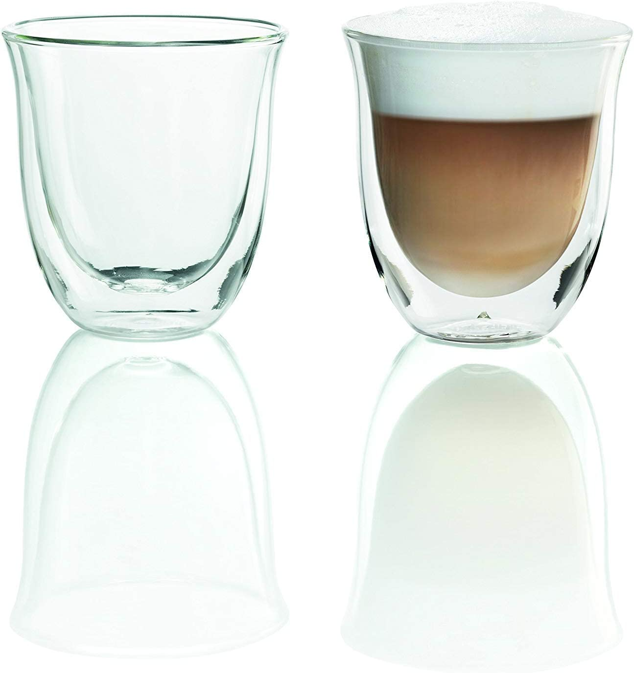 Delonghi Max 84% OFF 5513214601 Glasses Cappuccino Great interest