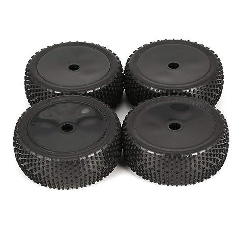 Laurelmartina 4 Unids 114mm SIN Contorno Escalada Coche Off-Road Rueda y Neumáticos para 1