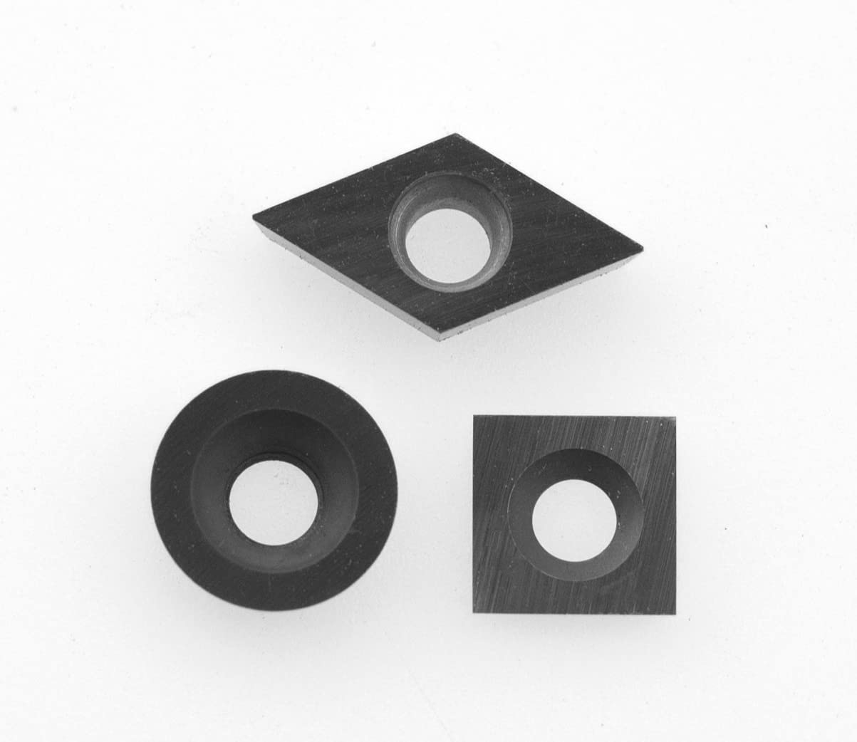 Combo Pack 3 Different Sizes 3 Carbide Insert Cutters for Wood Turning