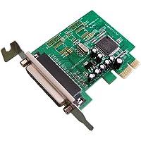 KALEA-INFORMATIQUE © - Carte Controleur PCI EXPRESS (PCI-E) vers Parallèle IEEE1284 - Prise DB25 / Pour imprimante ou scanner - LOW PROFILE
