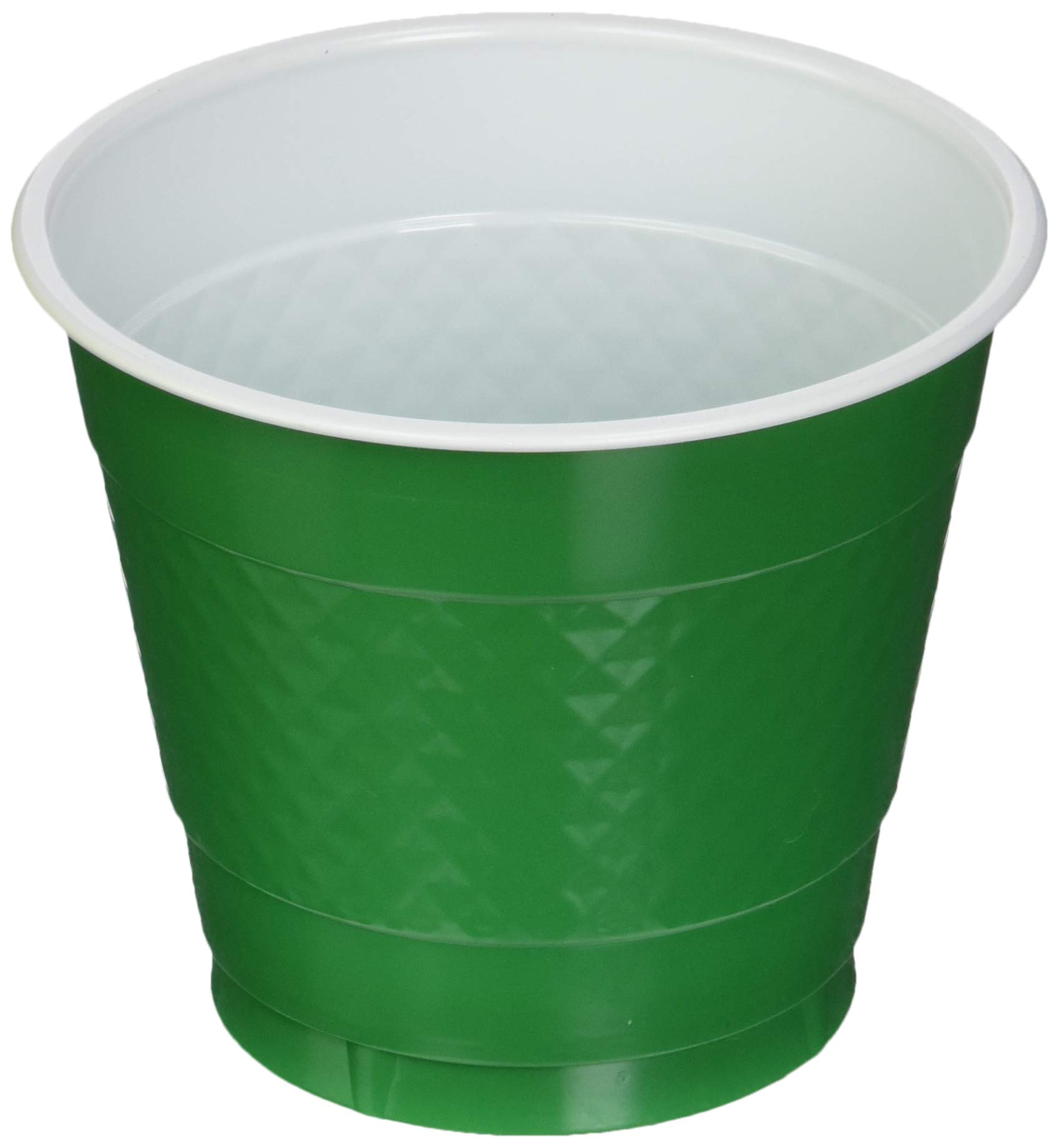 Amscan Festive Green Plastic Cups | 9oz. | Party Supply | 200 ct.