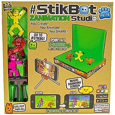 StikBot Zanimation Studio: Toys & Games