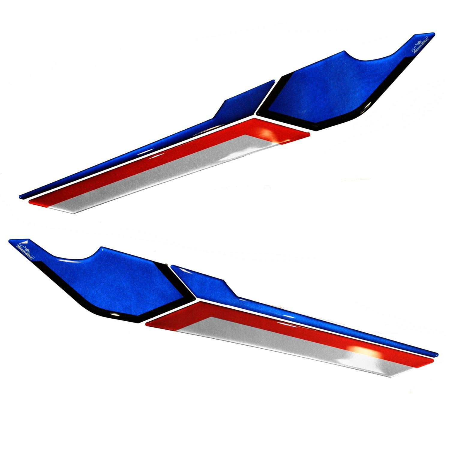 Stickers 3D Protection Front Wings Compatible with Honda X-Adv Black