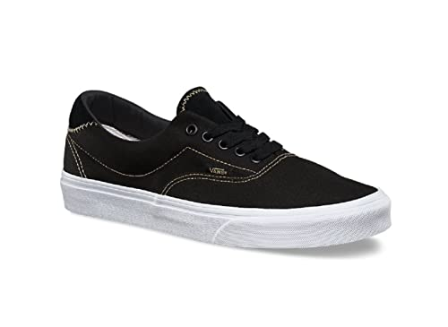 1568830feb2 Vans Men s Era 59 (C S) Black Sand Skateboarding Shoes (8 Women