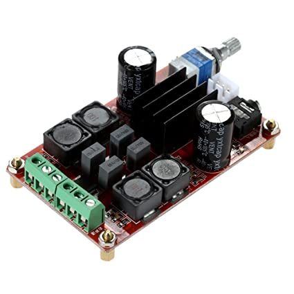 KKmoon TPA3116D2 2 * 50W Tablero del Amplificador de Potencia Digital Clase D DC12V 24V Doble