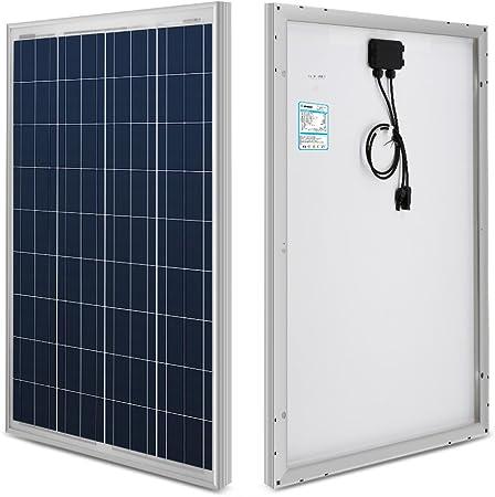 100W Flexible Premium Class A Solar Panel Monocrystalline 12V Motorhome Caravan
