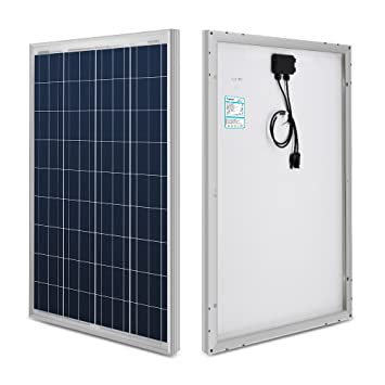 Renogy® 100 Watt 100w Polycrystalline Photovoltaic PV Solar Panel Module  12V Battery Charging for RV Boat Caravan