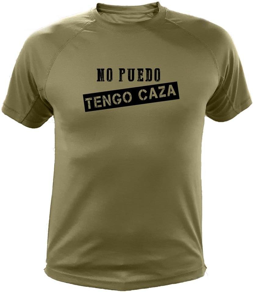 AtooDog Camiseta de Caza, No Puedo Tengo Caza - Regalos para Cazadores: Amazon.es: Deportes y aire libre