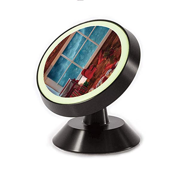 Magnetic Dashboard Cell Phone Car Mount Holder,Frozen Window Traditional Ritual Annual Festive,can be Adjusted 360 Degrees to Rotate,Phone Holder Compatible All Smartphones Accessories