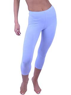 a7534f5aed Vivian s Fashions Capri Leggings - Cotton (Misses and Misses Plus Sizes)