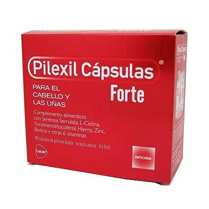 LACER LABORATORIOS SA, Pilexil Forte, 100 cáps