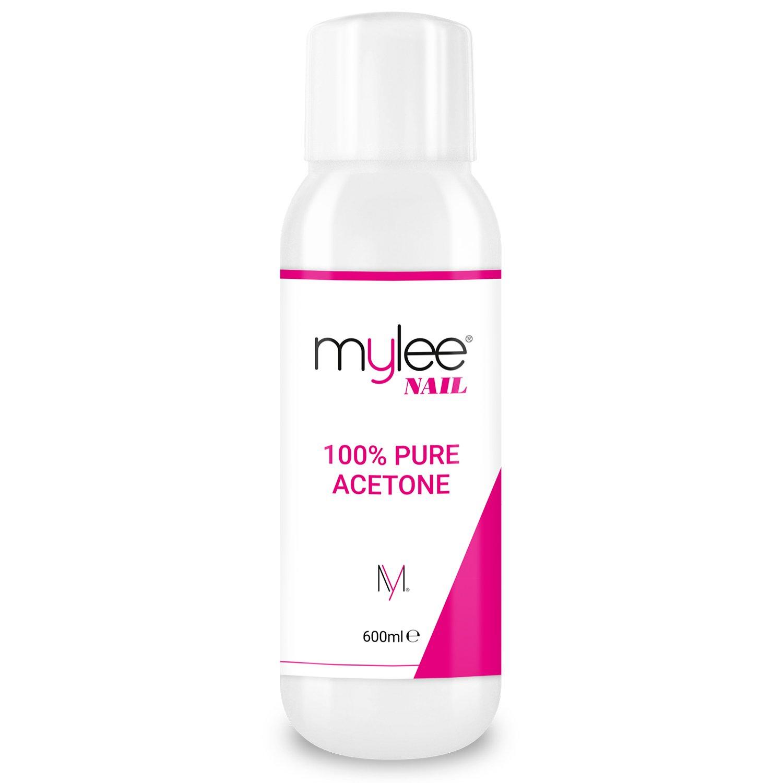 Mylee 100% Acetona Pura de 300ml Removedor de Esmalte de Uñas en Gel UV / LED de Calidad Superior