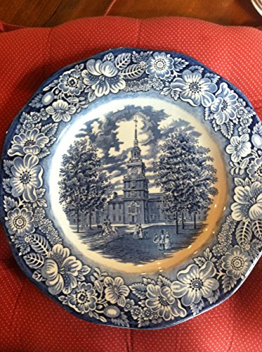 Staffordshire Dinner Plate Liberty Blue ()