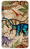 Amped Art 5000mAh Decorated Power Bank with Fast Charge for iPhone Samsung Galaxy Android and More - Jungle Dinosaurs - Image by Dan Morris