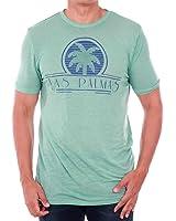 Jack&Jones T-Shirt Herren Kurzarm Hellgrün 12120231 JJVOVERTON TEE SS CREW NECK AQUIFER/MELANGE