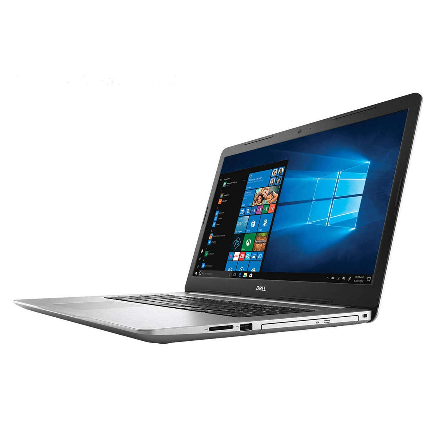 【残りわずか】 Dell RAM, Inspiron 17 Premium School and Business Laptop x 8th (Intel 8th Gen i7-8550U Quad-Core, 16GB RAM, 1TB HDD + 512GB PCIe SSD, 17.3