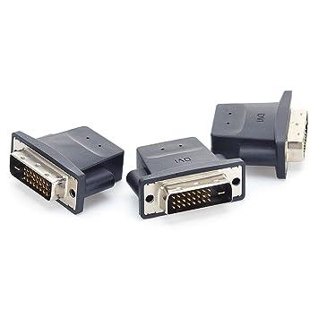 Amazon.com: Adaptador DVI monitor Dummy Plug de detección de ...