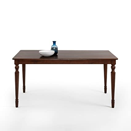 Zinus Bordeaux Large Wood Dining Table Only